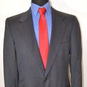 Perry Ellis 40R Sport Coat Blazer Suit Jacket
